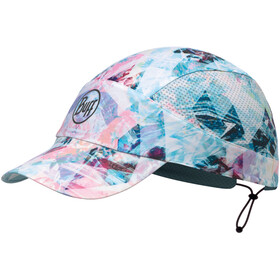 Buff Pack Run Cap Reflective-Irised Aqua